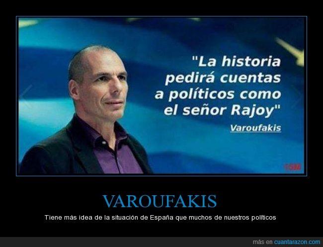 Grecia,historia,politica,politico,Rajoy,Varoufakis