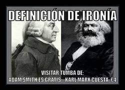 Enlace a No hay nada más irónico que lo de la tumba de Marx