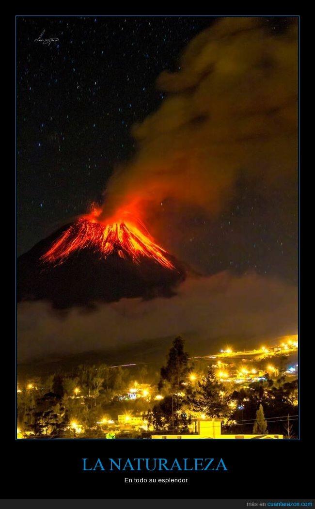 Ecuador,Erupción,Esplendor,Naturaleza,NO es Photoshop,Tungurahua,Volcan