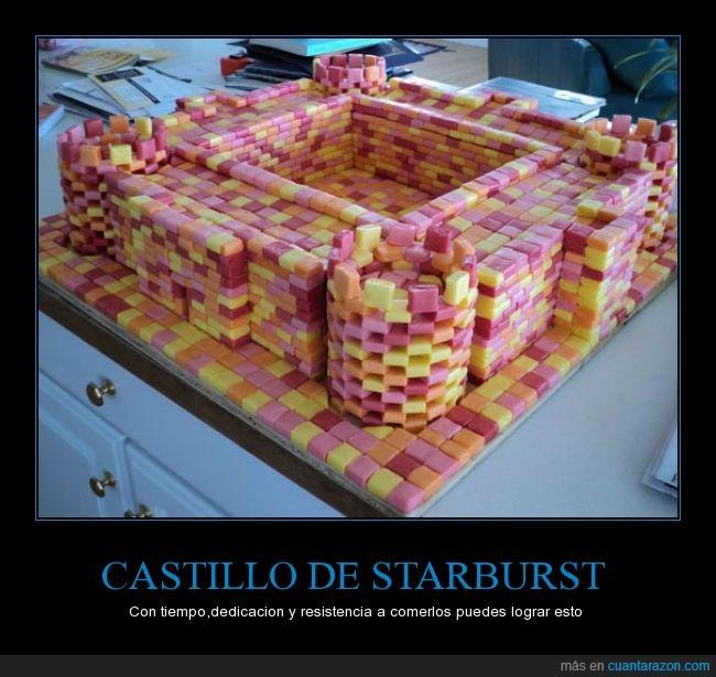 castillo,colores,dedicacion,fuerte,genial,imaginacion,starburst,sugus,tiempo