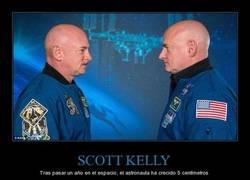 Enlace a ¡Si sois bajitos/as, haced como Scott Kelly para crecer!