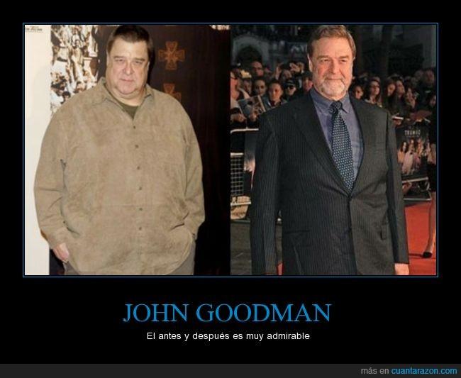 adelgazar,delgado,gordo,John Goodman,obesidad,peso,salud