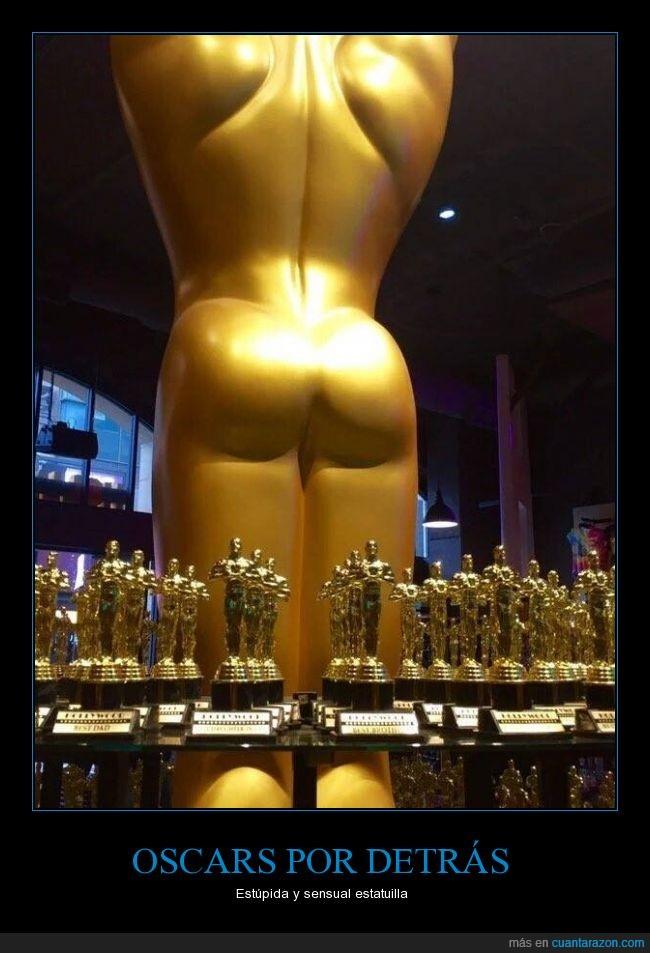 detrás,estatuilla,estupida,Oscar,sensual,trasero
