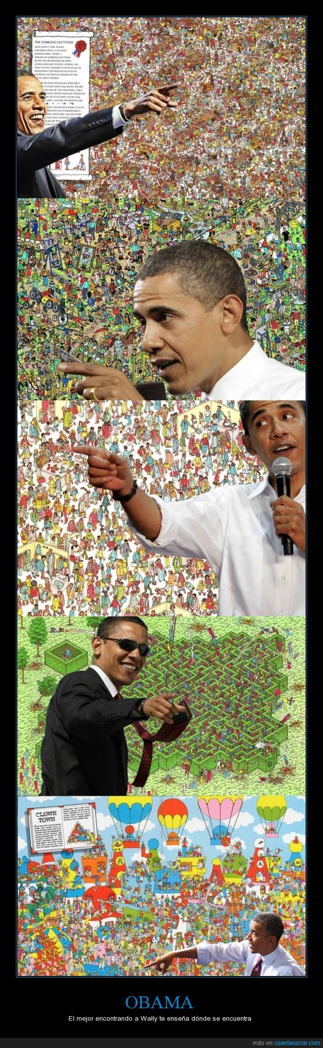 apuntar,dedo,dónde está wally,Obama,señalar,Wally