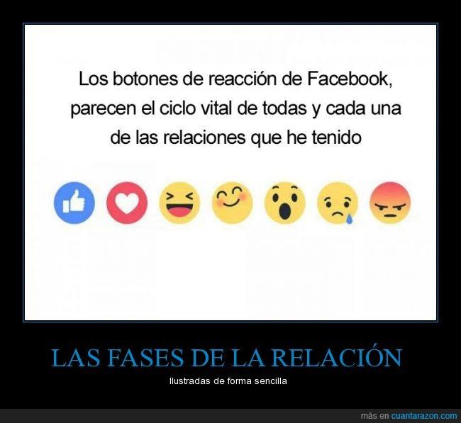 amor,enfado,Facebook,gustar,pareja,reacción,relación
