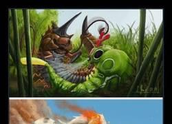 Enlace a Imagínate qué mal rollo si estos Pokémon realistas existiesen...