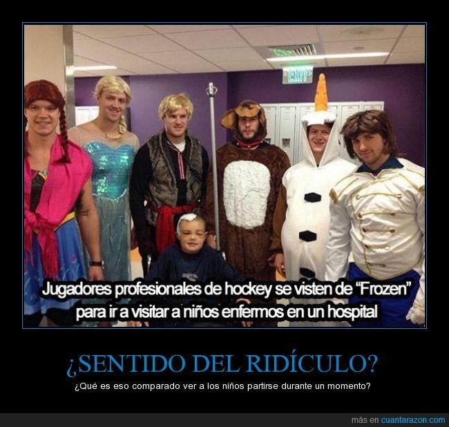anna,elsa,frozen vestido,Hockey,hospital,jugador,niños,profesional