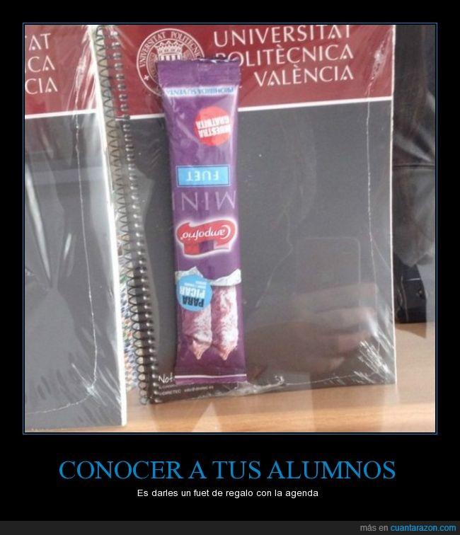 agenda,fuet,politecnica,salchichón,universitat,Valencia