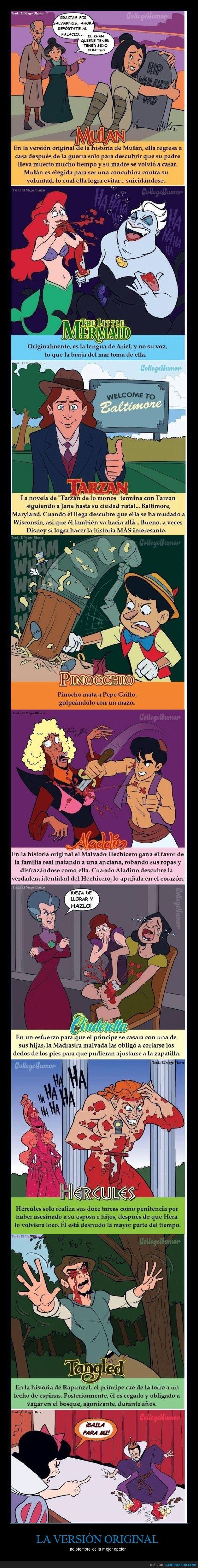 aladdin,Blancanieves,cenicienta,disney,hercules,mulan,peliculas,princesas,real,villanos