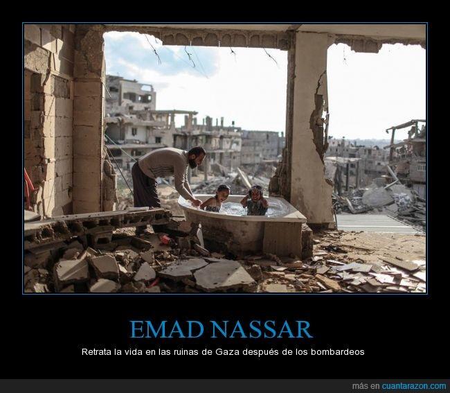 duchar,Emad Nassar,familia,franja,Gaza,guerra,hijos,padre,sobrina