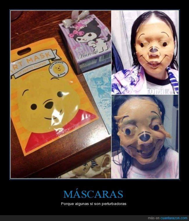 mascaras,miedo,perturbadoras,winnie the pooh