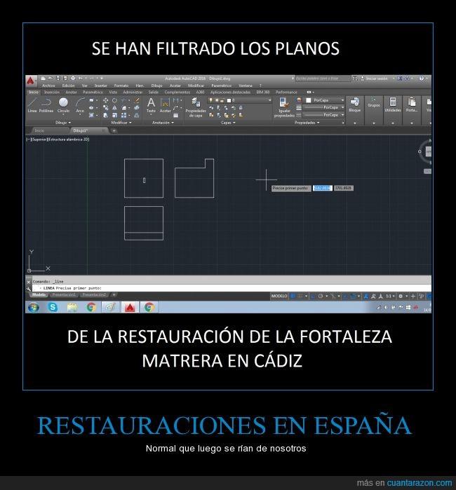 cadiz,España,Matrera,planos,reconstrucción