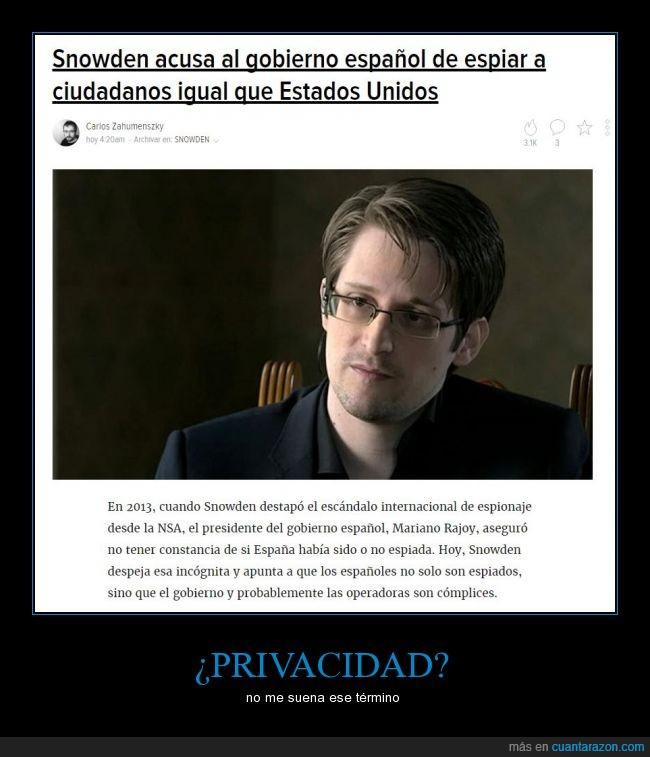 CNI,España,espionaje,gobierno español,Snowden