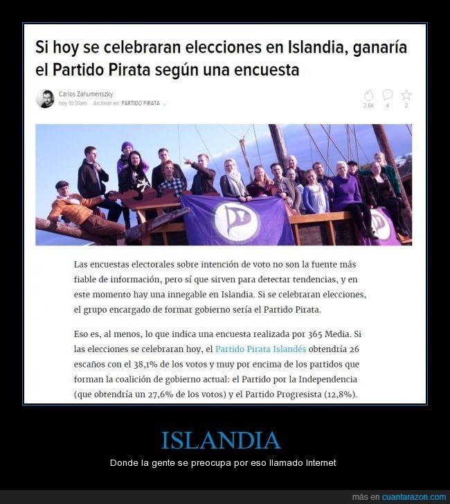copyright,elecciones,islandia,neutralidad de la red,partido pirata,política