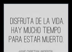 Enlace a Hans Christian Andersen sabía lo que se decía