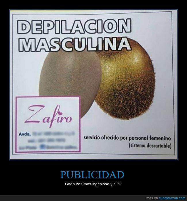 Argentina,Bs As,depilacion,graciosa,kiwi,La Plata,publicidad