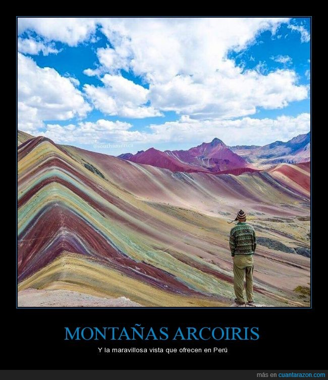 arcoiris,color,montañas,Perú