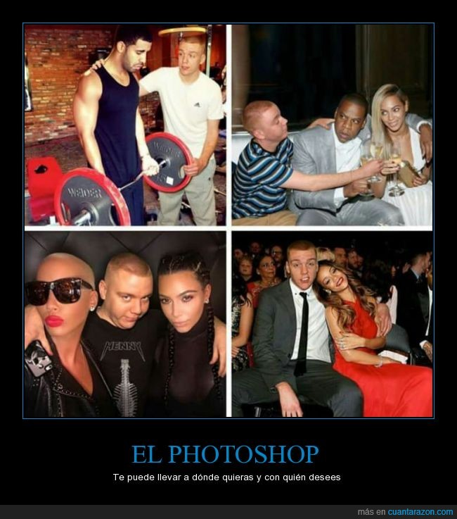 Beyonce,bien usado,colarse,cualquier sitio o persona,famosos,fotos,Kardashian,photoshop,retocadas,Rihanna