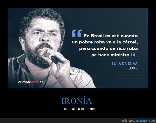 Brasil,Corrupción,Izquierda,Lula,ministro