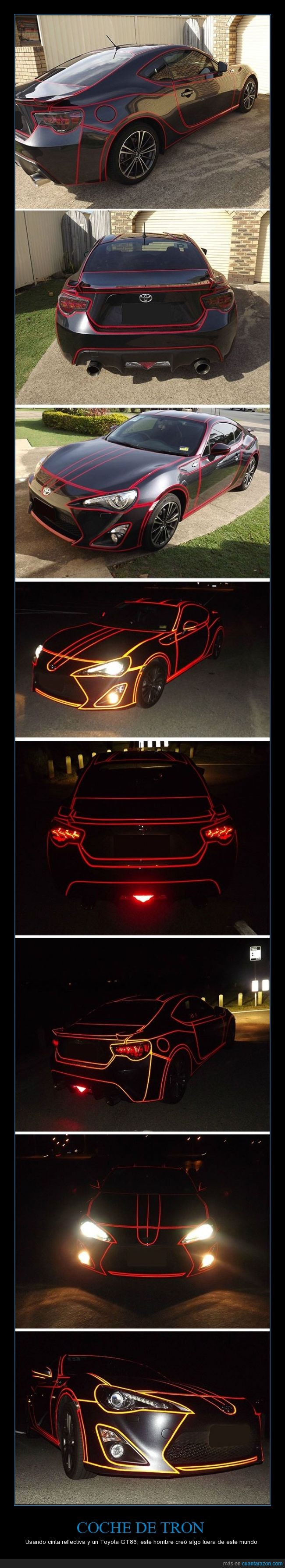 auto,coche,genial,genialidad,gt86,molar,reflectivo,toyota,tron,vinilo