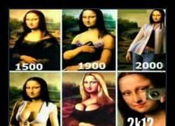 Enlace a La Mona Lisa sigue evolucionando