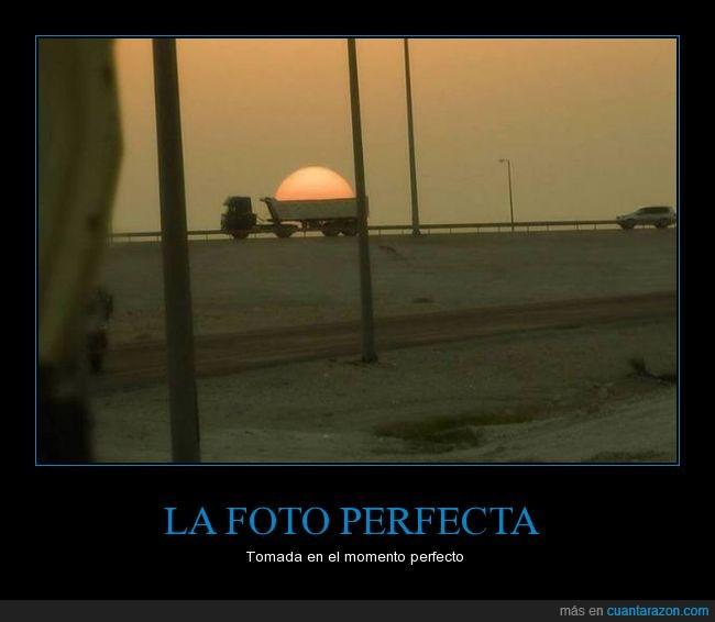 camioneta,foto,momento perfecto,sol,tomar
