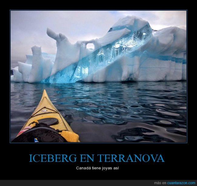 canadá,iceberg,kayak,precioso,terranova