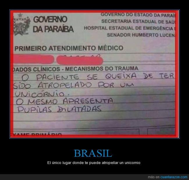 brasil,fail,fantasía,medicina,médico,salud,Unicornio
