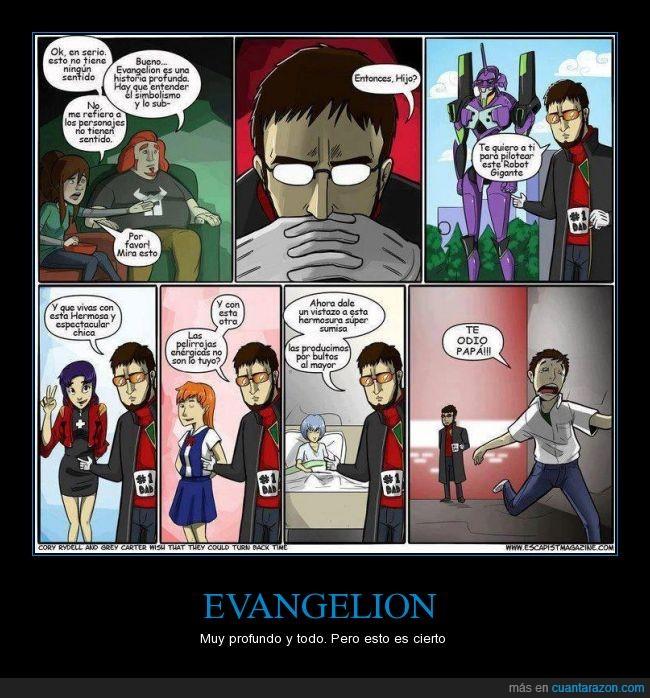 argumento,chicas,comic,Evangelion,hijo