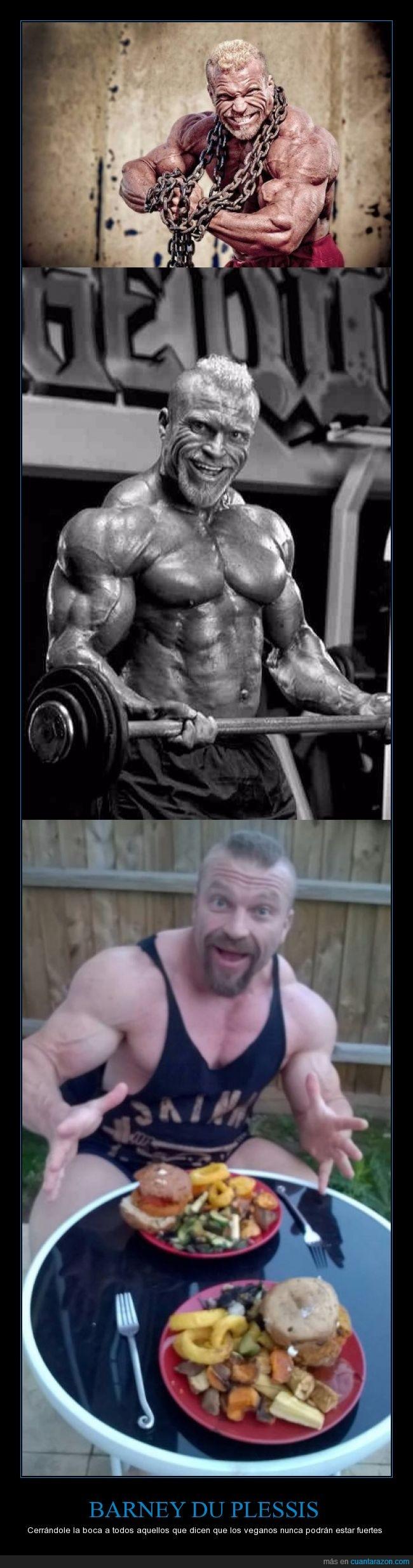 alimentación,Barney Du Plessis,bodybuilder,comida,culturista,fuerte,salud,vegano
