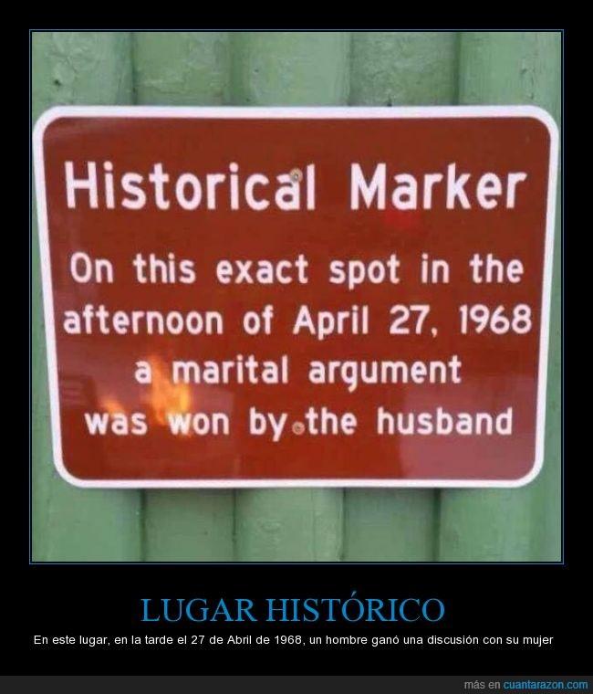 cartel,discusión,esposo,hombre,humor,letrero,marido,mujeres