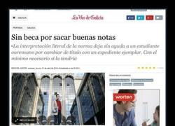 Enlace a No tuvo la beca por DEMASIADA BUENA NOTA.... WTF?!