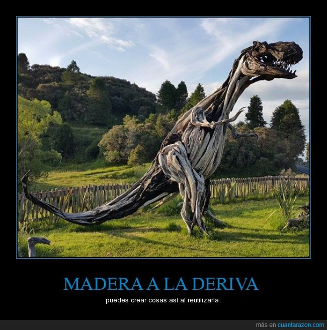 agua,deriva,dinosaurio,madera,mar,t rex,t-rex,trex