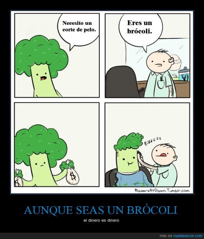 brócoli,corte,dinero,pagar,pelo,peluquero,swag