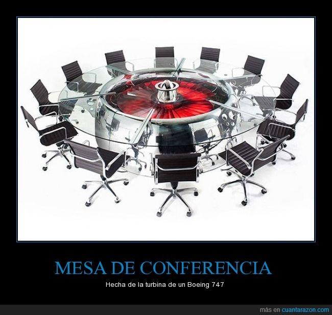 avion,conferencia,genial,mesa,motor,sillas,turbina