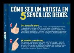 Enlace a Ser un artista está al alcance de tu mano