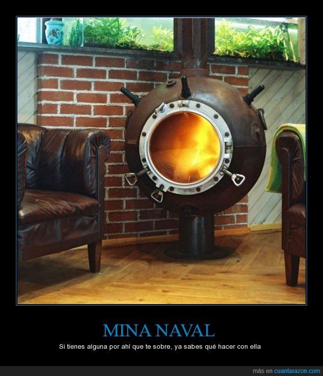 chimenea,genial,mina,naval,reutilizar