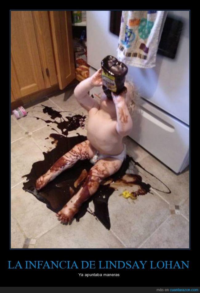 beber,chocolate,cocina,infancia,niña,sirope