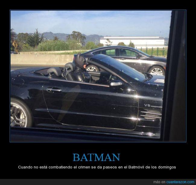 batman,batmovil,coche,descapotable,disfraz