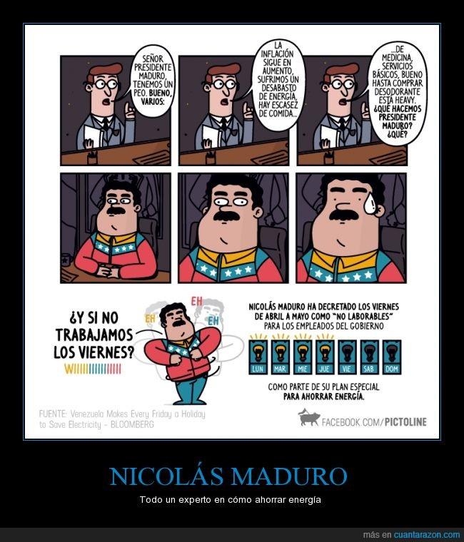 crisis,energía,escasez,idea,Nicolás Maduro,problemas,Venezuela,yanke