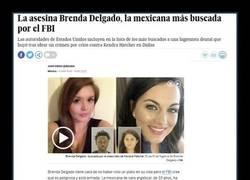 Enlace a Brenda Delgado, no parece peligrosa pero...
