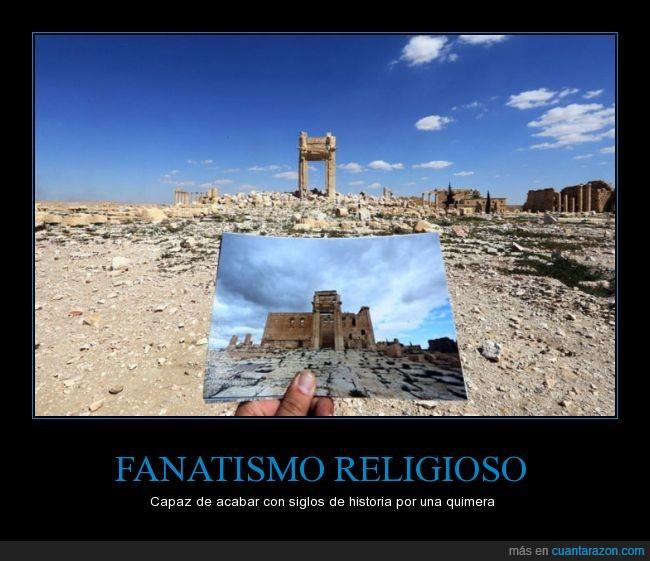 daesh,derrumbar,edificio,isis,palmira,religion,templo
