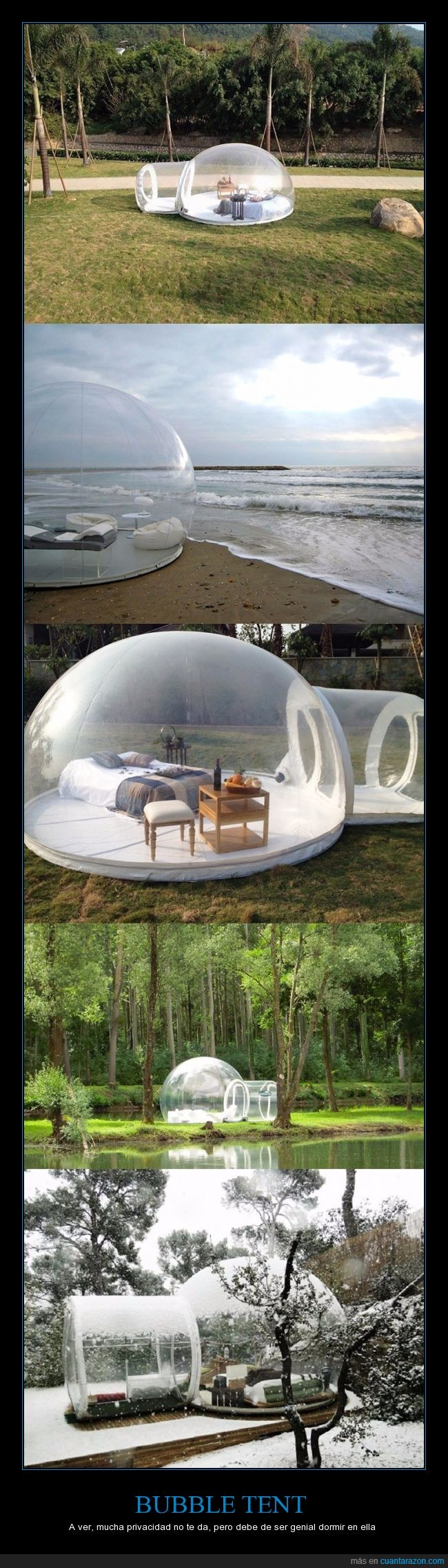 Bubble tent,campaña,dormir,iglu,tienda,transparente
