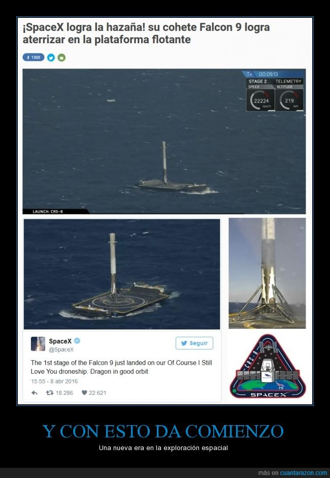 40.000 km de altitud,actualidad,creador de SpaceX,creador de Tesla,Elon Musk,se ahorran millones: el cohete Falcon 9 cuesta 60 millones y gracias a esto prepararlo para una nuev