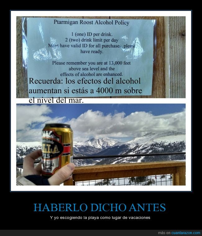 alcohol,bendita altura,mayor efecto,menos gasto,noticia,vacaciones