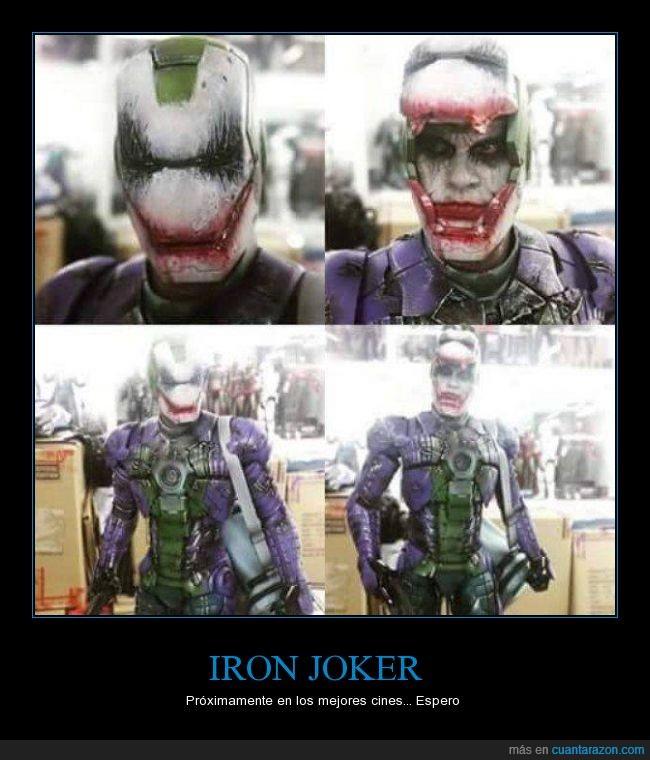 futuro,iron man,joker,superhéroe
