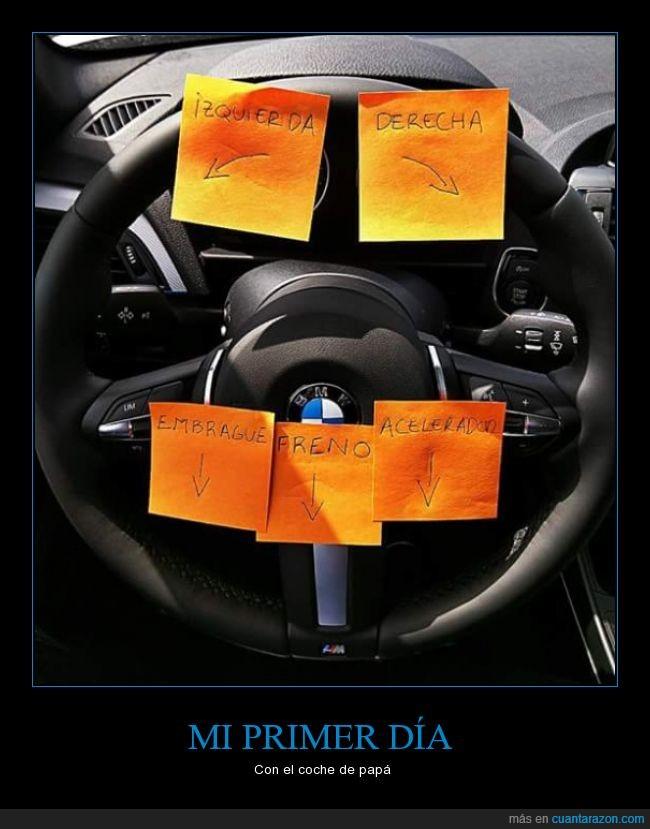 coche,indicaciones,timón,volante