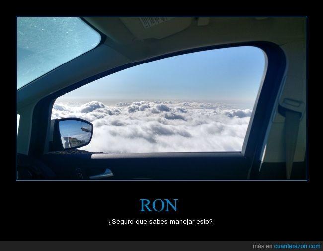 carro,foto real,harry potter,nubes,referencia,retrovisor,ron