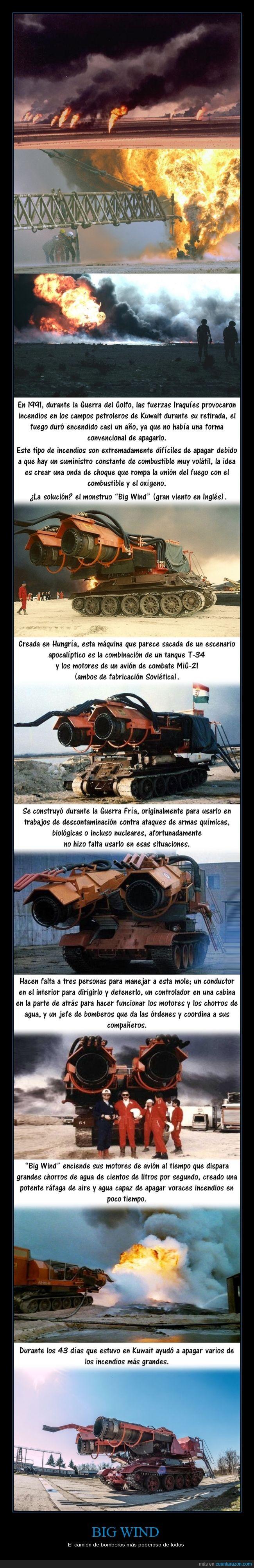 1991,avión,bomberos,fuego,guerra,Guerra del Golfo,Guerra Fría,historia,Hungría,incendio,invento,Irak,Iraq,Kuwait,like a boss,Mad Max,máquina,medio oriente,mole,motor,petróleo,poderoso,potencia,tanque,Unión Soviética,URSS