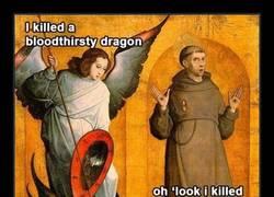Enlace a El dragón más raro ever y el chulito
